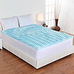 Authentic Comfort® 2-Inch Comfort Rx 5-Zone Foam Queen Mattress Topper