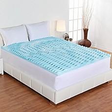 Authentic Comfort Reg 2 Inch Rx 5 Zone Foam Mattress Topper