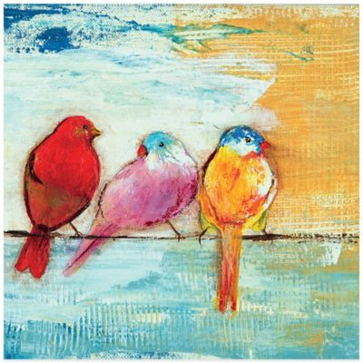 Song Birds III Canvas Wall Art
