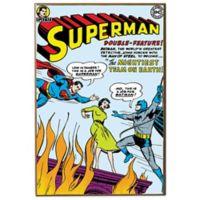 Superman DC Comic Book Cover Wall Décor Plaque