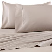 Barbara Barry Perfect Pin Dot Standard Pillowcases in Taupe (Set of 2)
