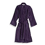 Wamsutta® Sheared Terry Small/Medium Kimono Bathrobe in Iris