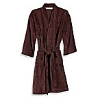 Wamsutta® Sheared Terry Small/Medium Kimono Bathrobe in Java