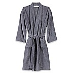 Wamsutta® Sheared Terry Large/Extra Large Kimono Bathrobe in Pewter