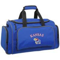WallyBags® University of Kansas 21-Inch Duffle