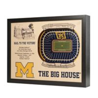 University of Michigan Stadium Views Wall Art
