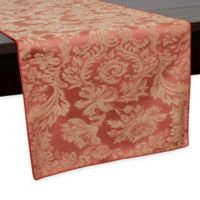 Miranda Damask 54-Inch Table Runner in Sienna