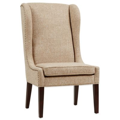 Madison Park Garbo Dining Chair In Beige
