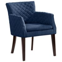 Madison Park Rochelle Dining Chair in Navy
