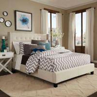 Verona Home Kensington Wingback Platform Queen Bed in White