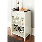 Chatham House Baldwin Wine Cabinet in IVory