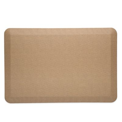 Delightful Imprint® CumulusPRO™ 20 Inch X 30 Inch Anti Fatigue Kitchen Mat