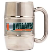 University of Miami Barrel Mug