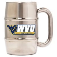 West Virginia University Barrel Mug