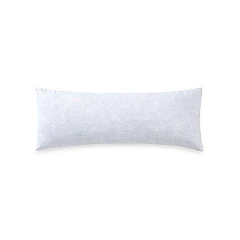 Buy Feather 6-Inch x 14-Inch Neckroll Throw Pillow Insert in White from Bed Bath & Beyond