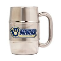 MLB Milwaukee Brewers Barrel Mug