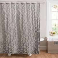 Lake Como Shower Curtain In Grey
