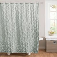 Lake Como Shower Curtain in Blue