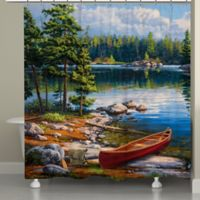 Laural HomeR Blue Water Bay Shower Curtain