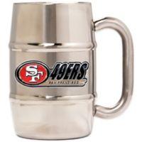 NFL San Francisco 49ers Barrel Mug