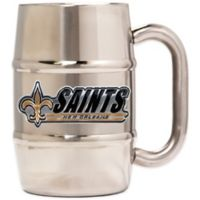 NFL New Orleans Saints Barrel Mug