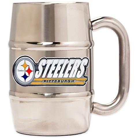 Nfl Pittsburgh Steelers Barrel Mug Bed Bath Amp Beyond