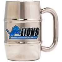 NFL Detroit Lions Barrel Mug