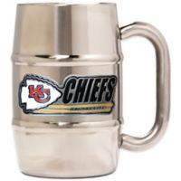 NFL Kansas City Chiefs Barrel Mug