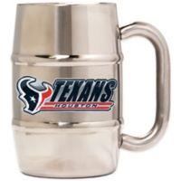 NFL Houston Texans Barrel Mug
