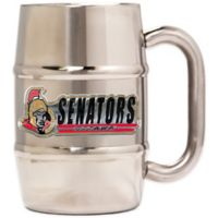 NHL Ottawa Senators Barrel Mug