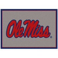 University of Mississippi 3-Foot 10-Inch x 5-Foot 4-Inch Spirit Rug