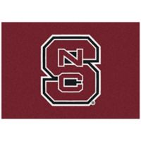 North Carolina State University 2-Foot 8-Inch x 3-Foot 10-Inch Extra Small Spirit Rug