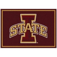 Iowa State University 3-Foot 10-Inch x 5-Foot 4-Inch Small Spirit Rug
