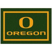 University of Oregon 2-Foot 8-Inch x 3-Foot 10-Inch Extra Small Spirit Rug