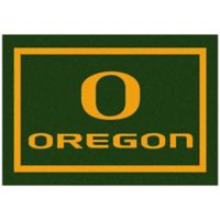 University of Oregon 3-Foot 10-Inch x 5-Foot 4-Inch Small Spirit Rug