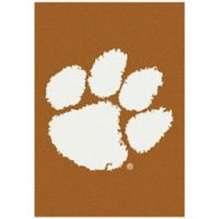 Clemson University 3-Foot 10-Inch x 5-Foot 4-Inch Small Spirit Rug