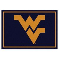 West Virginia University 5-Foot 4-Inch x 7-Foot 8-Inch Medium Spirit Rug