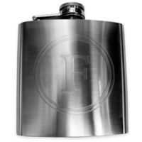 "Mud Pie® Stainless Steel Letter ""F"" Boxed Flask"