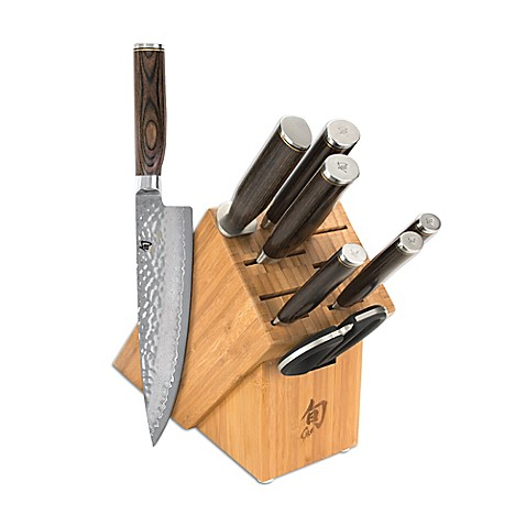 Shun Premier 9 Piece Essential Knife Block Set Bed Bath