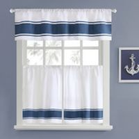 Harbor House Sailor 24-Inch Window Curtain Tier Pair in White