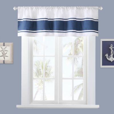 Harbor House Sailor Window Curtain Valance In White