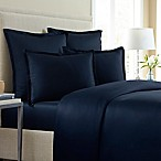 Wamsutta® 620-Thread-Count Solid Full/Queen Duvet Cover in Navy