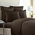 Wamsutta® 620-Thread-Count Solid Full/Queen Duvet Cover in Chocolate