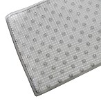 Splash Home Covert Bath Mat in Grey