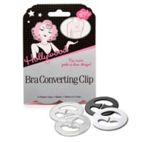 Hollywood Fashion Secrets® Bra Converting Clip (Set of 4)