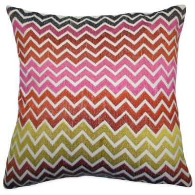 Buy Zig Zag Square Throw Pillow Decorative Pillows from Bed Bath & Beyond