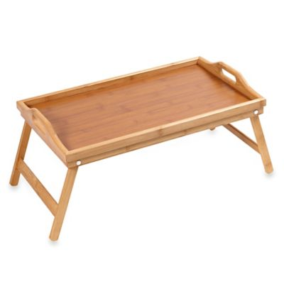 Home Basics® Bamboo 18 Inch Bed Tray