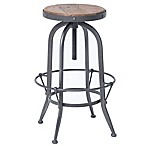 Urban Oasis Stratton Bar Stool in Black