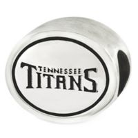 Sterling Silver NFL Tennessee Titans Antiqued Charm Bead