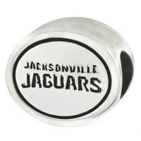 Sterling Silver NFL Jacksonville Jaguars Antiqued Charm Bead